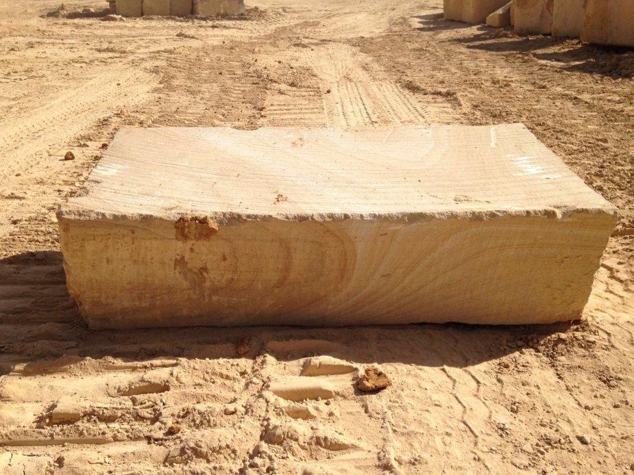 Sandstone bush steps
