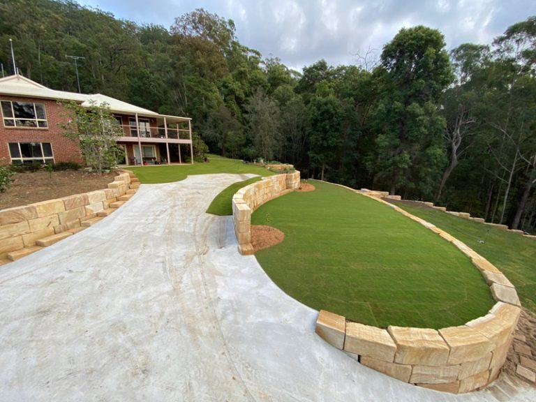 B Grade Premium sandstone walls